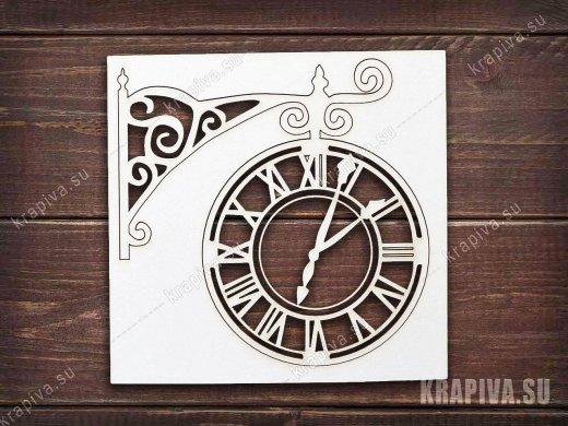 Чипборд Часы №1