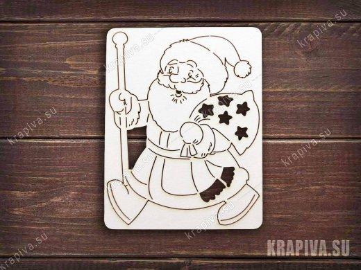 Чипборд Дед Мороз №2