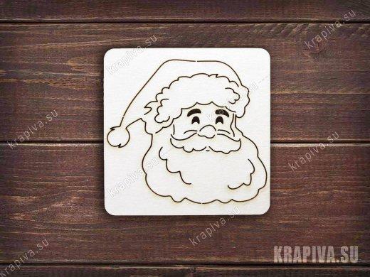 Чипборд Дед Мороз №3