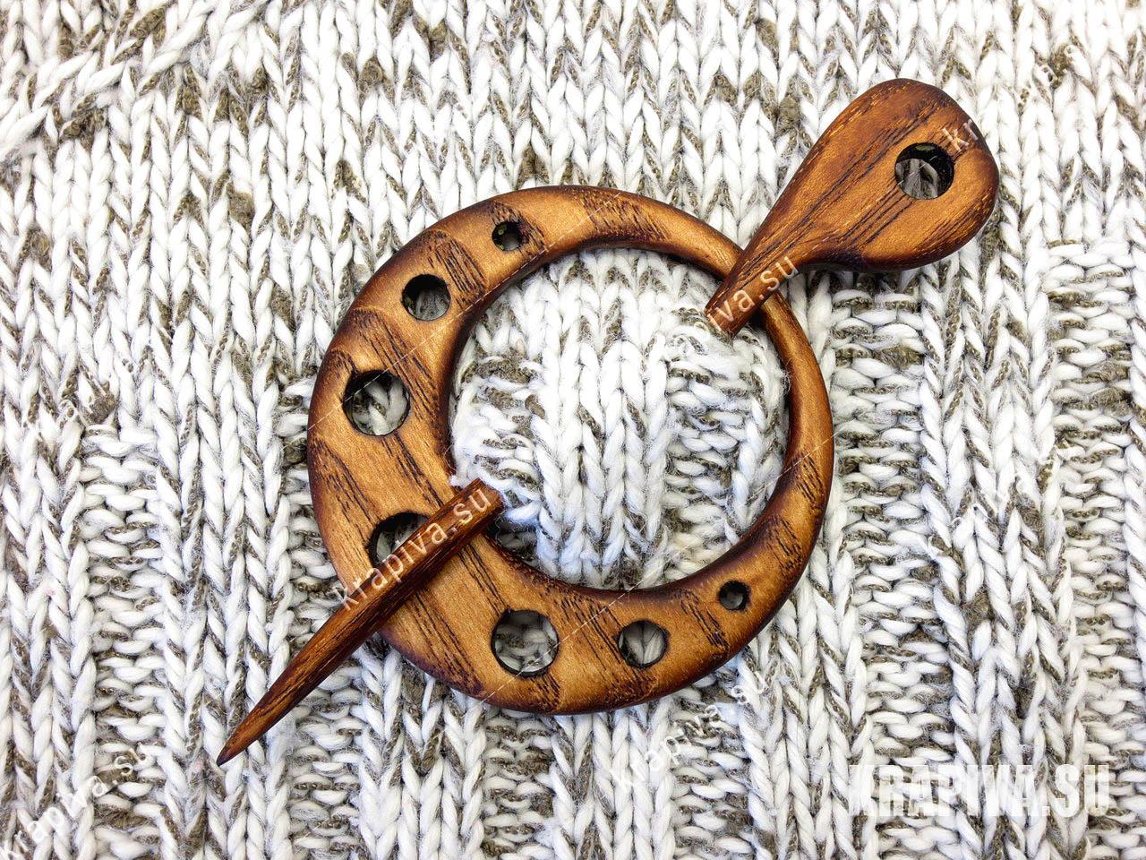 Заколка Кольцо за 450 руб. в магазине Крапива (krapiva.su) (фото)