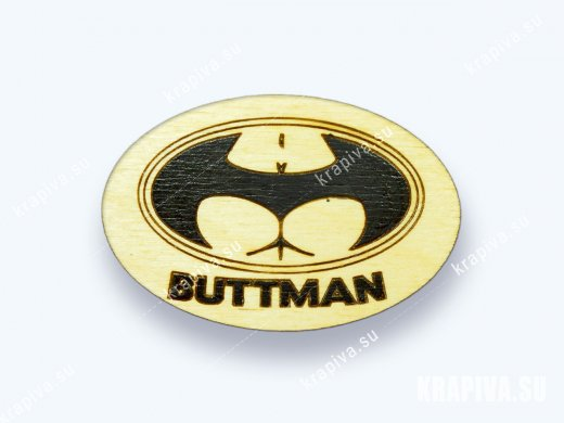 Значок Buttman