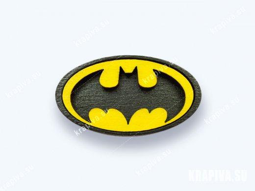 Значок Бэтмен - Batman