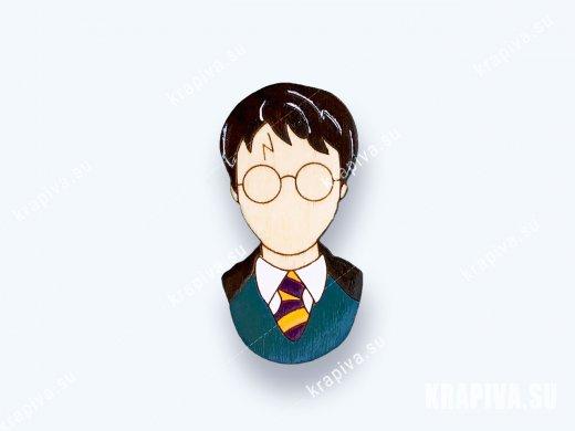 Брошь «Гарри Поттер» (значок)