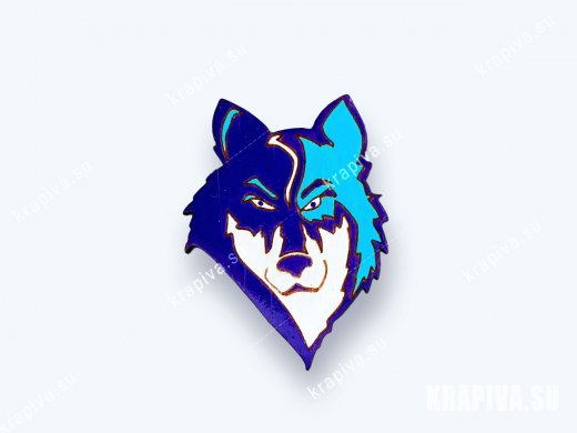 Значок Волк