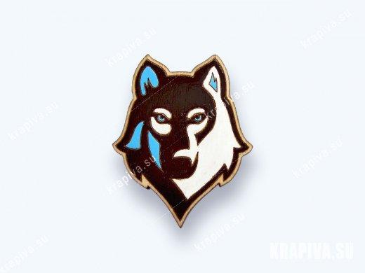 Значок Волк №2