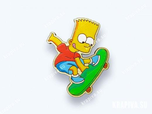 Значок Барт №4