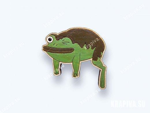 Значок Лягушка