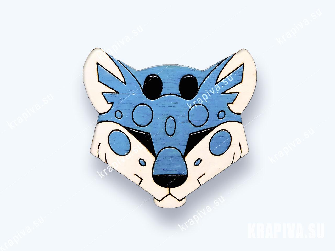 Значок Снежный леопард (фото-1)