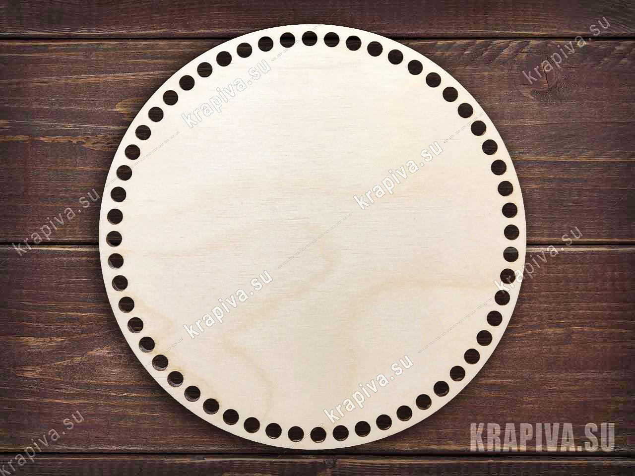 Донышко круглое для корзины за 90 руб. в магазине Крапива (krapiva.su) (фото)