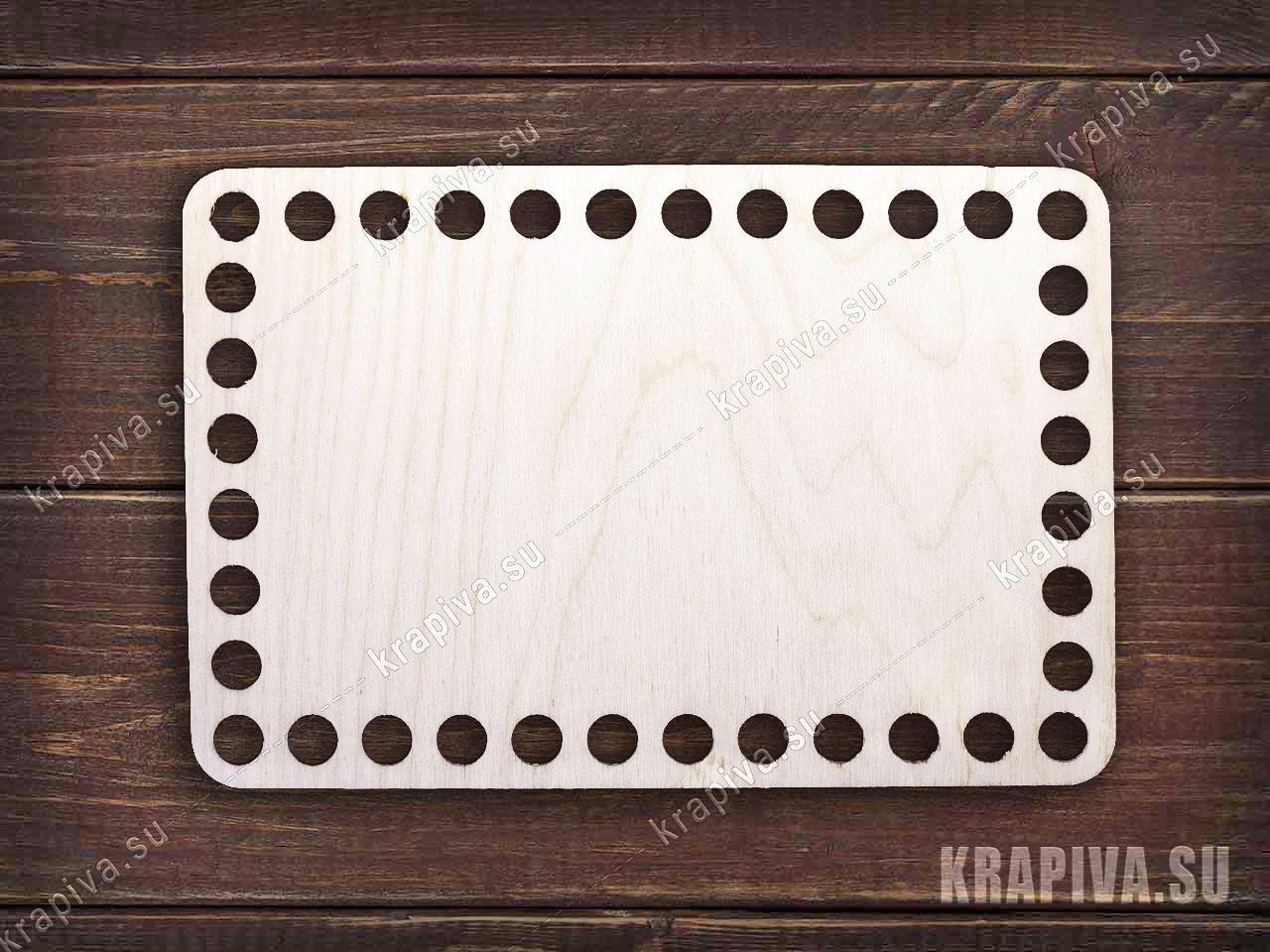 Донышко прямоугольное для корзины за 90 руб. в магазине Крапива (krapiva.su) (фото)