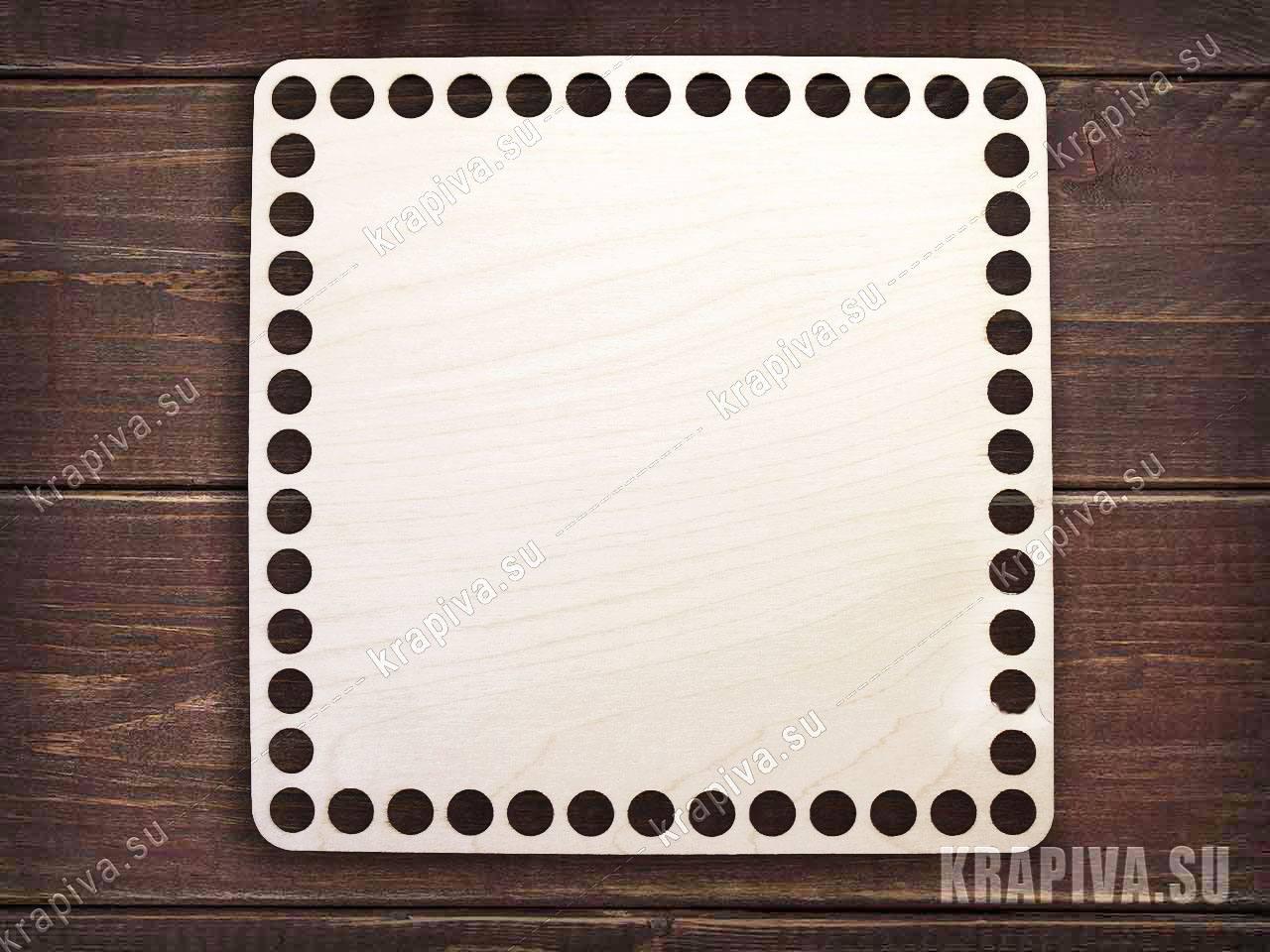 Донышко квадратное для корзины за 130 руб. в магазине Крапива (krapiva.su) (фото)