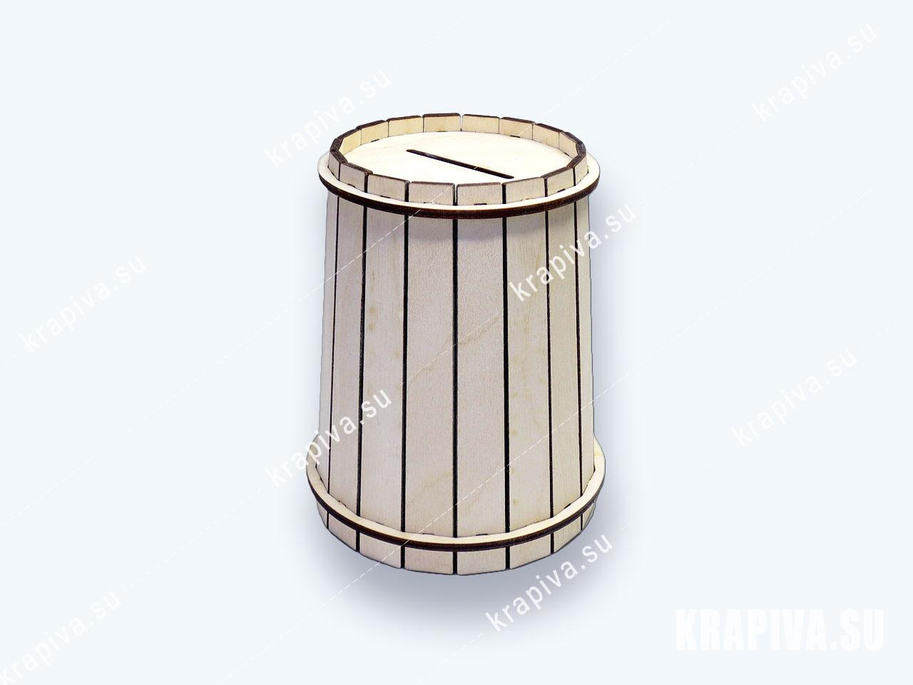 Копилка бочка (фото-1)
