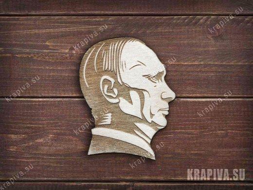 Путин заготовка значка