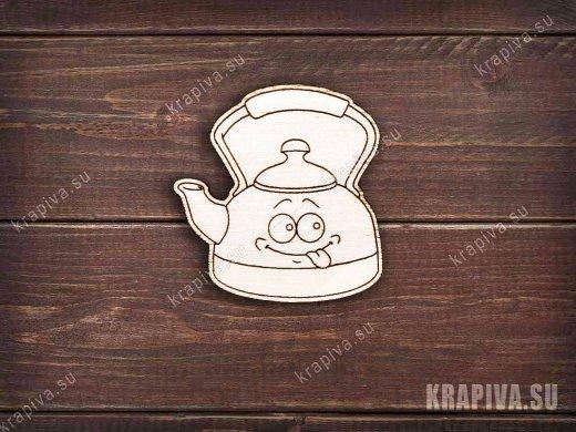 Чайник заготовка значка