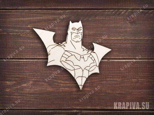 Batman №2 заготовка значка