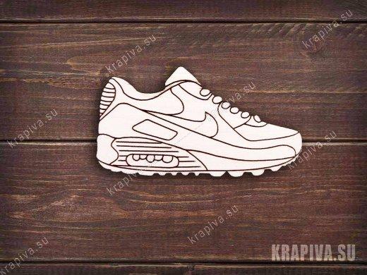 Кроссовок Nike заготовка значка