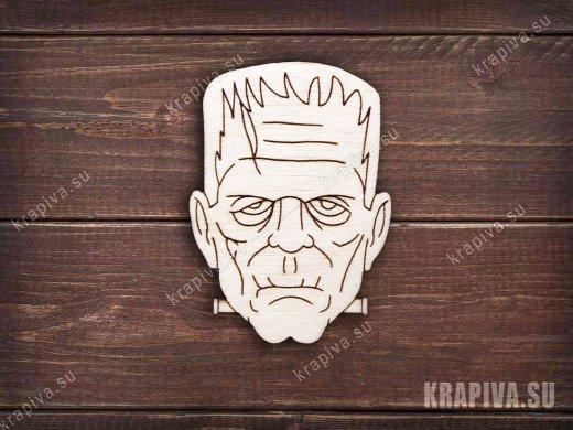 Франкенштейн заготовка значка