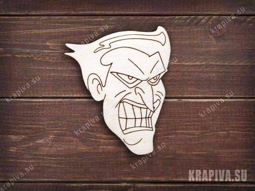 Джокер №2 заготовка значка