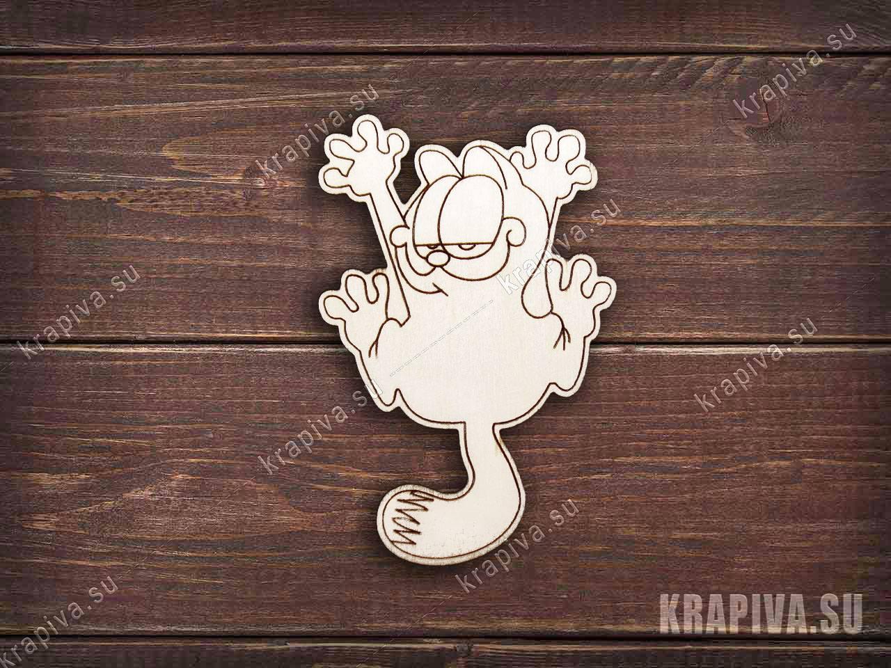 Гарфилд заготовка значка за 35 руб. в магазине Крапива (krapiva.su) (фото)