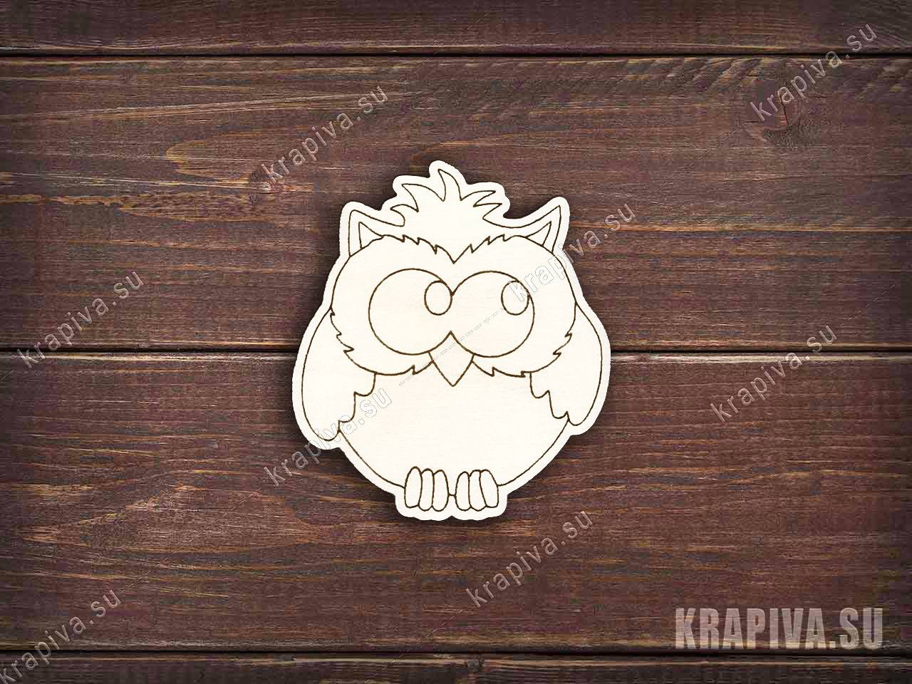 Заготовка Сова с большими глазами zag-zn-owl-28 купить в ...